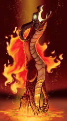 Lava Lord Volvagia by Leafyful