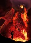 Subterranean Lava Dragon Volvagia