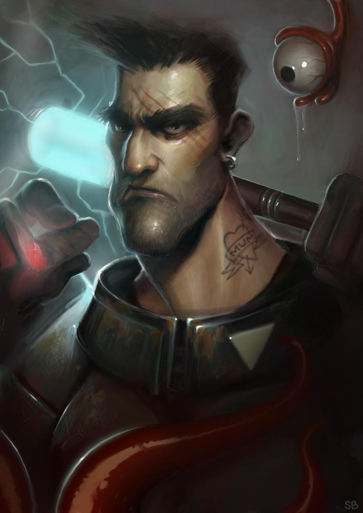 Mutant keeper by PapaNinja