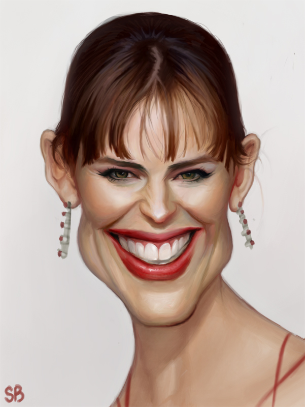 Jennifer Garner by PapaNinja