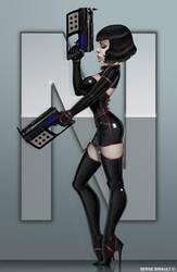 Comic book character design I by PapaNinja