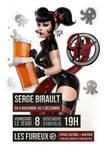 Exhibition poster, Les Furieux