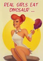 Wilma Flintstone fan art by PapaNinja