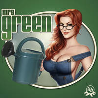 Mrs Green logo