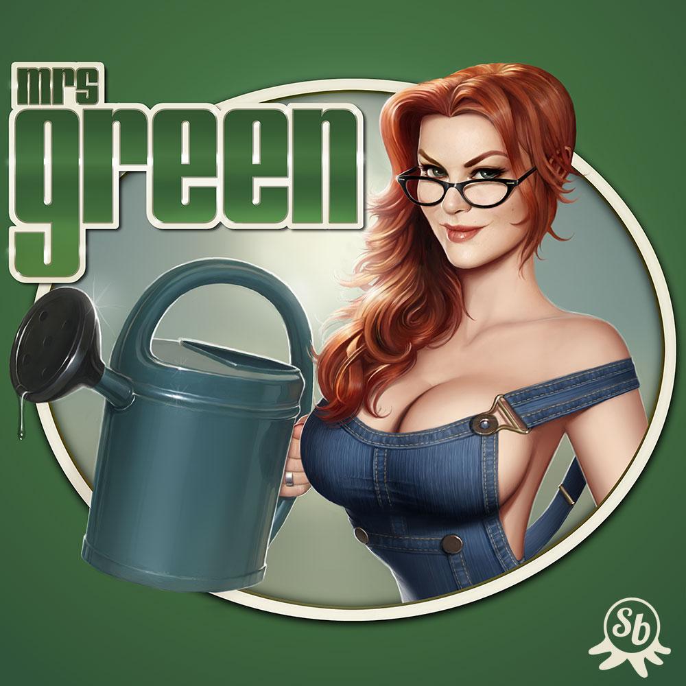 Mrs Green logo