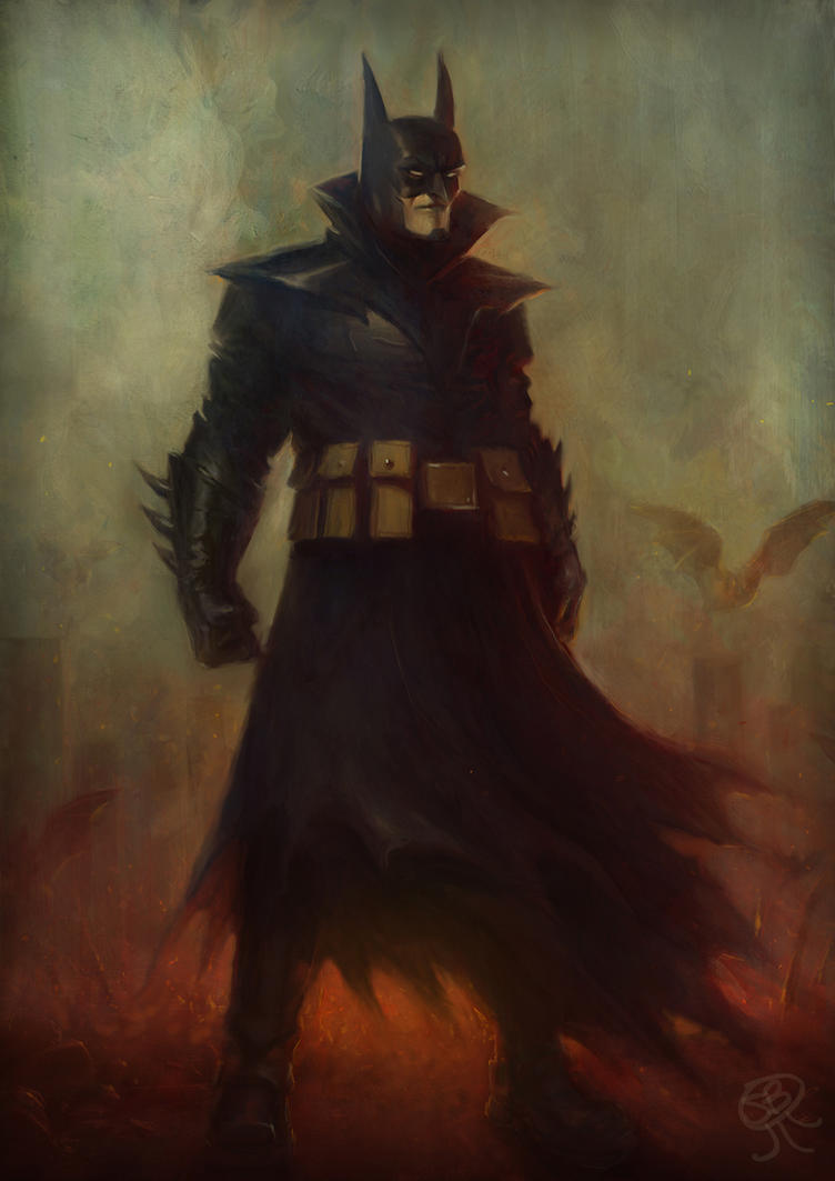 Batman #666 fan art by PapaNinja