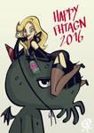 Happy Fhtagn by PapaNinja