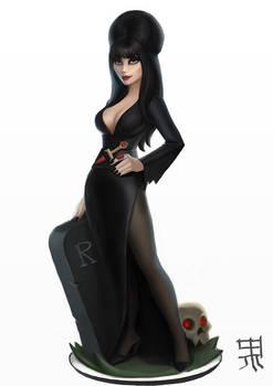 Elvira in Disney Infinity style
