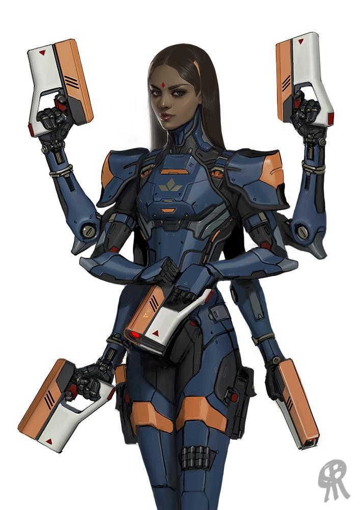 Kali body armor by PapaNinja