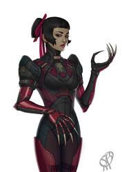 CLAWS body armor by PapaNinja