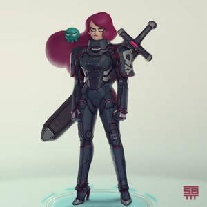 Octavia - Space pirate