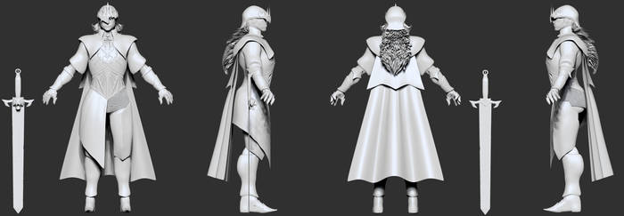 Gothic Knight 3D
