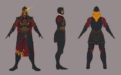 Gothic Knight Turnaround