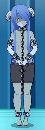 CRYOgenic ice demon [OC+Export] by UnseenwolfMC