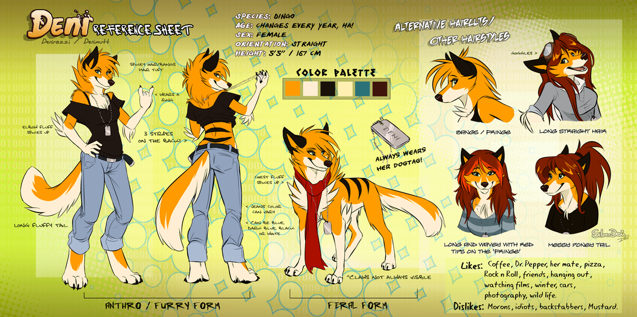 deni reference sheet 2011 by silverdeni on deviantart