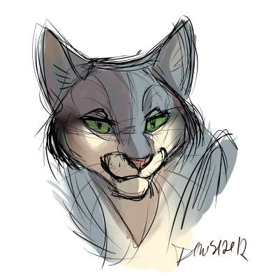 Mushycat by SilverDeni