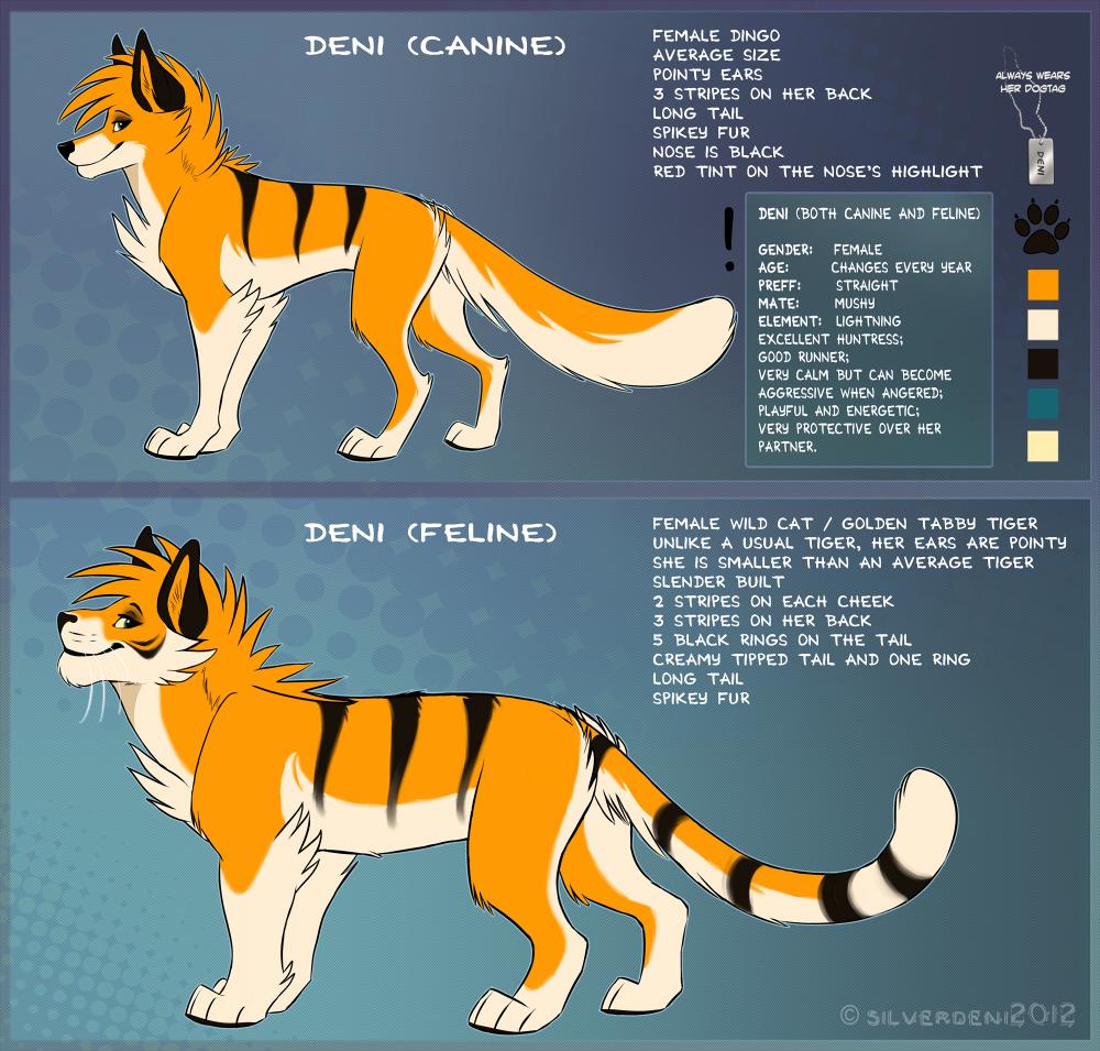 Deni [Canine / Feline] 3.0 by SilverDeni