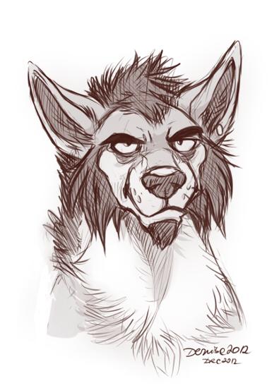 Mushy Caricature by SilverDeni