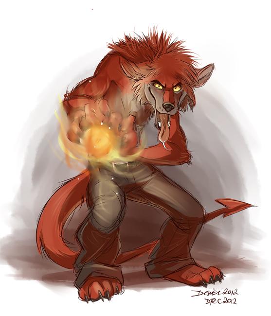 Pyromaniac by SilverDeni