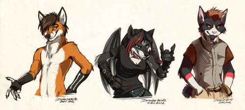 Sketch Commission: Batch 12 by Synthucard