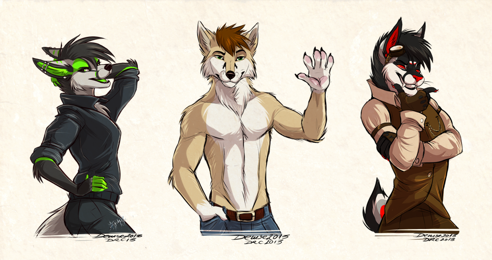Sketch Commission: Batch 15 by SilverDeni