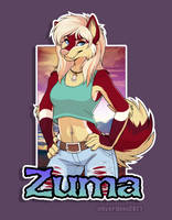 Badge Commission: Zuma by Synthucard