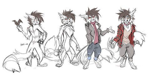 Toony Ref sketch 2 by Synthucard