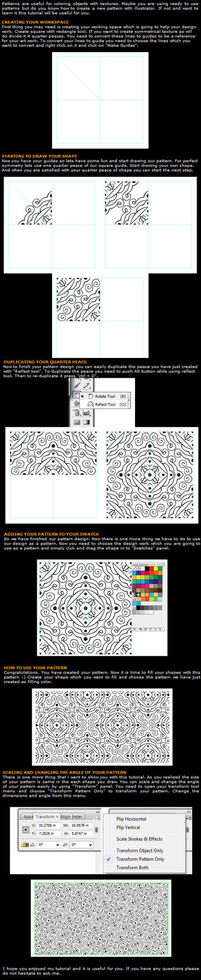 Creating Pattern by leographics