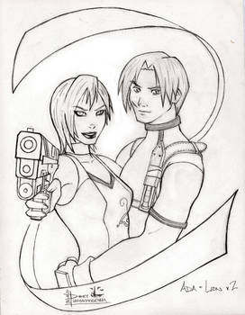 Ada and Leon v.2 Pencil