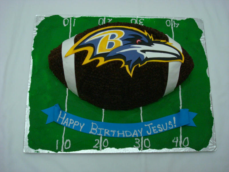 Baltimore Ravens Cake Decorating Kit