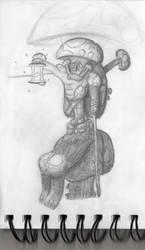 Fungi man concept by VikingCheese