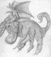 Monster Keybee by VikingCheese