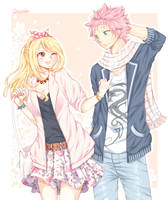 NaLu [Modern AU] by Cocassion