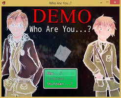 Who Are You...? [HETALIA GAME] [DEMO] ::UPDATE1:: by sophloulou