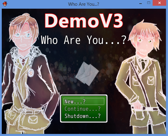 Who Are You...? [HETALIA GAME] [DemoV3] by sophloulou