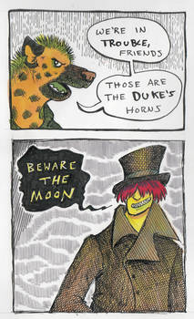 2 Unrelated Comic Panels