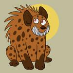 Smiley Hyena