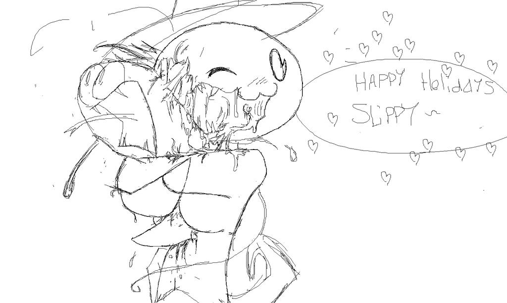 Sir Inkblot Sends Her Cheer by SlippyMagnus