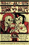 Horrorpunk VS. Psychobilly Poster