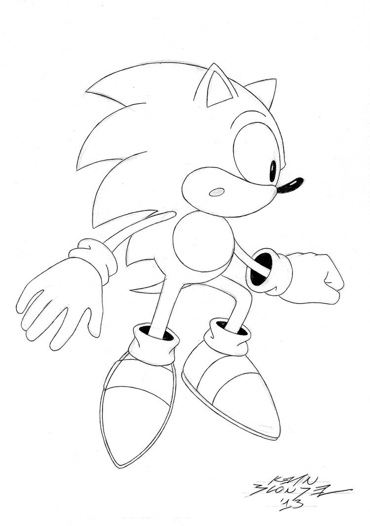 Sonic Teleported Up by classicgamer76
