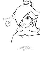 Rosalina - Ink by classicgamer76