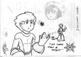 Mega Man Doodles