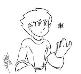 Mega Man - Snowflake
