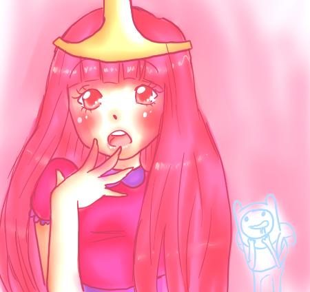 Princess Bubblegum. by TroudeChatte