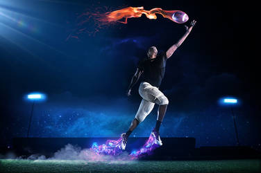 Nike Football by InWineThereIsTruth