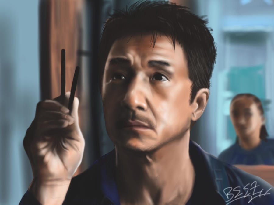 Jackie Chan - The Karate Kid by Singabee on DeviantArt