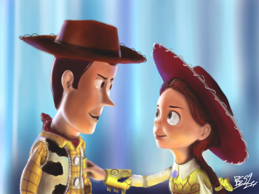 Woody And Jessie Toy Story 3 by Singabee on deviantART
