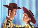 Woody And Jessie Toy Story 3