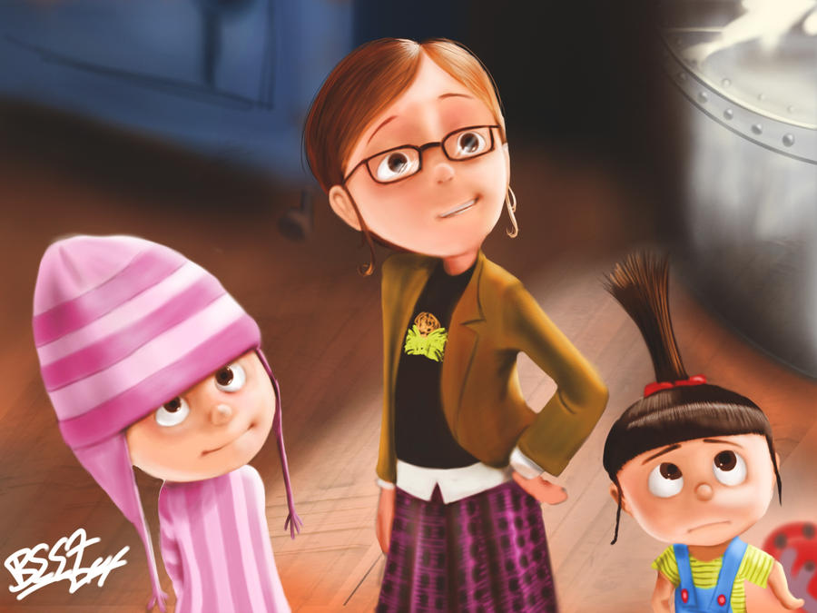 despicable me margo and agnes - photo #8