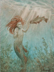 Trout Mermaid